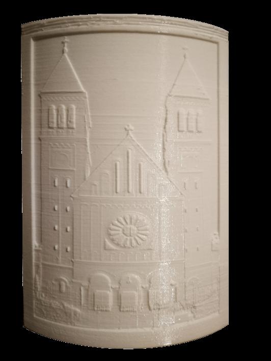 3D ajándék kedvenc épületedről - Pécs
