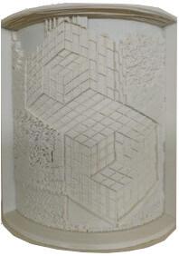 3D ajándék kedvenc műalkotásodról - Vasarely 2.