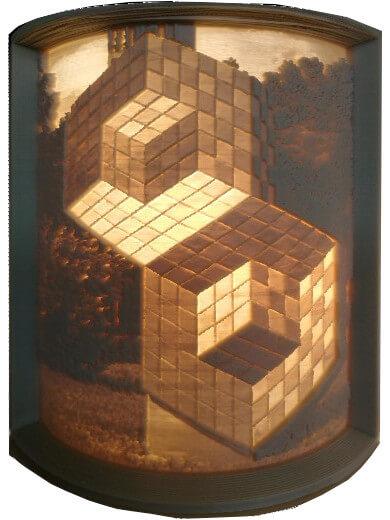 3D ajándék kedvenc műalkotásodról - Vasarely